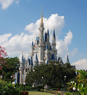 Cinderella Castle by day