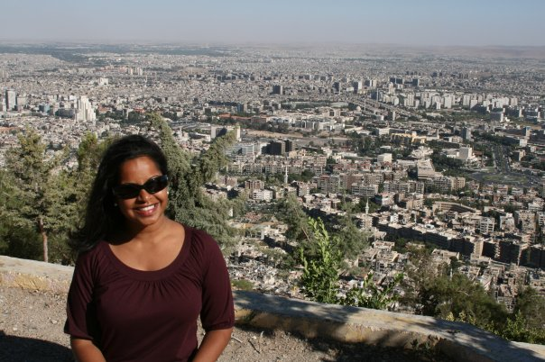 Me, on mount Qassioun above Damascus, 2009