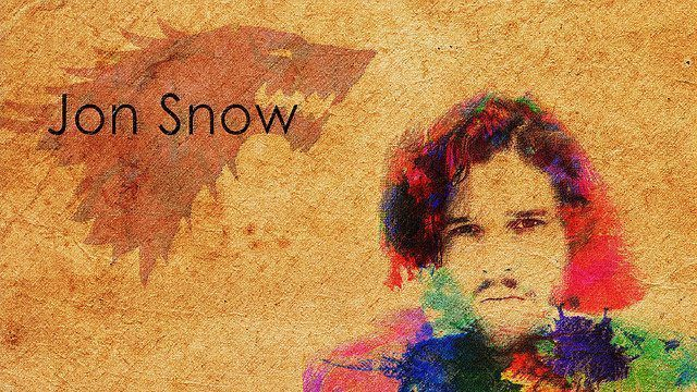 Jon Snow Tribute by Sayan Bhowmilk