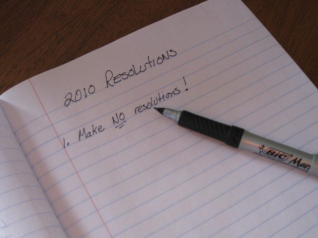 No Resolutions by Kate Ter Haar